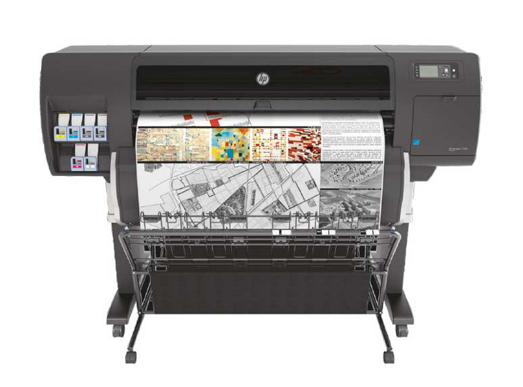 HP Großformatdrucker Plotter T-Serie Designjet T7200 - 42-Zoll by Copy Wolf Jolanta Kossmann Uerdingen Krefeld